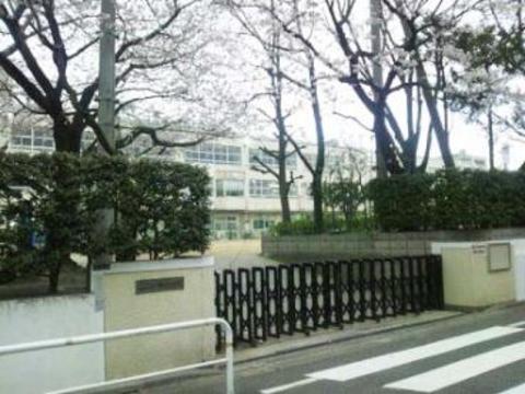 富士見台中学校 650m