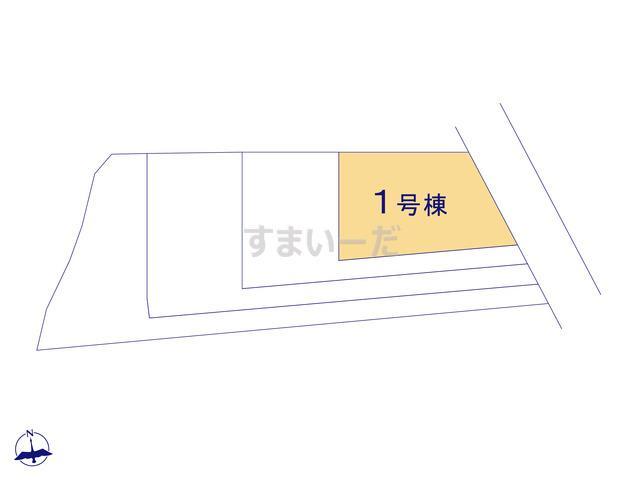 リナージュ 福岡市早良区野芥18-1期の見取り図