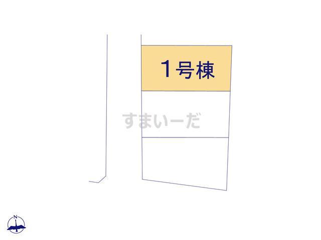 ハートフルタウン 富山市小杉1期の見取り図
