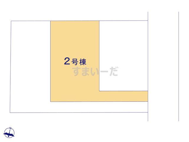 ハートフルタウン 富山市婦中町速星1期の見取り図
