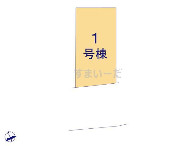リーブルガーデン 宝塚市花屋敷荘園3期の見取り図