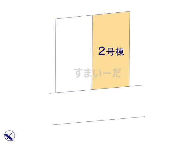 ハートフルタウン 町田市本町田3450番の見取り図