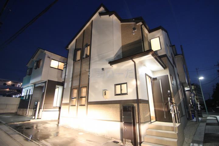 ブルーミングガーデン 名古屋市天白区菅田2丁目4棟-長期優良住宅-の外観①