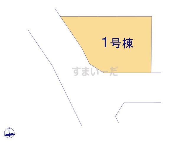 リナージュ 宇美町明神坂19-1期の見取り図