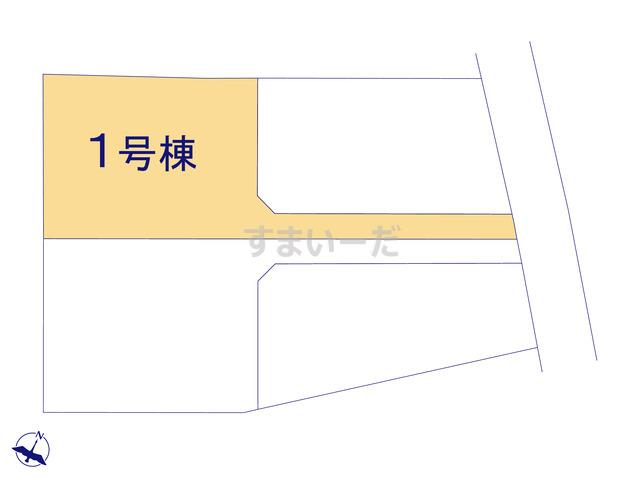 リーブルガーデン 袋井浅羽2期の見取り図