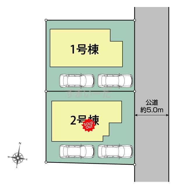 ブルーミングガーデン 三鷹市井口4丁目2棟-長期優良住宅-の見取り図