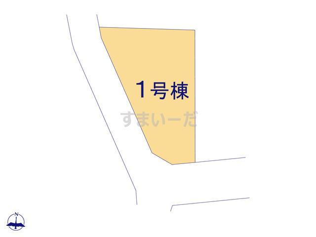 リーブルガーデン 藤岡市上戸塚第3の見取り図