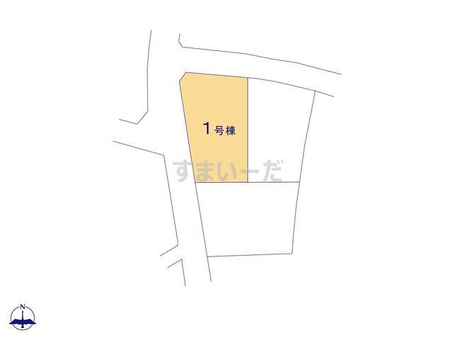 リーブルガーデン 第6渋川中郷の見取り図