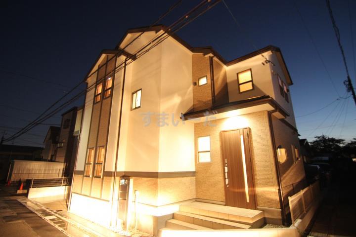 ブルーミングガーデン 北名古屋市六ツ師山の神2棟-長期優良住宅-の外観②