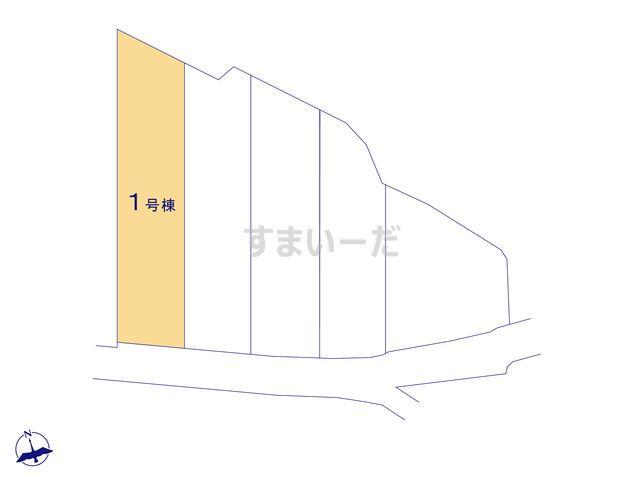 リーブルガーデン 南区三島町2期の見取り図