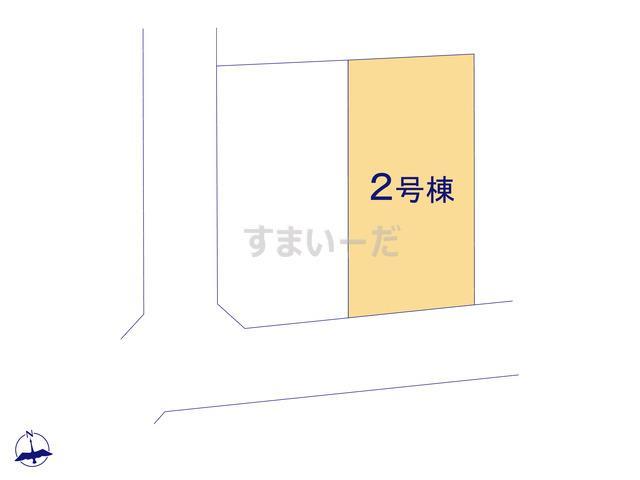 リーブルガーデン 小金井貫井南町第1期の見取り図