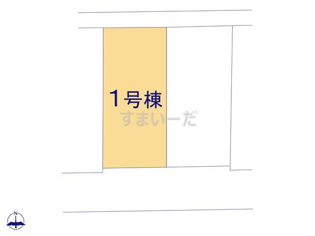 リーブルガーデン 北区石井小学校前の見取り図