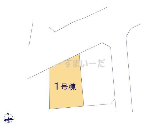 リーブルガーデン 秦野渋沢第2の見取り図