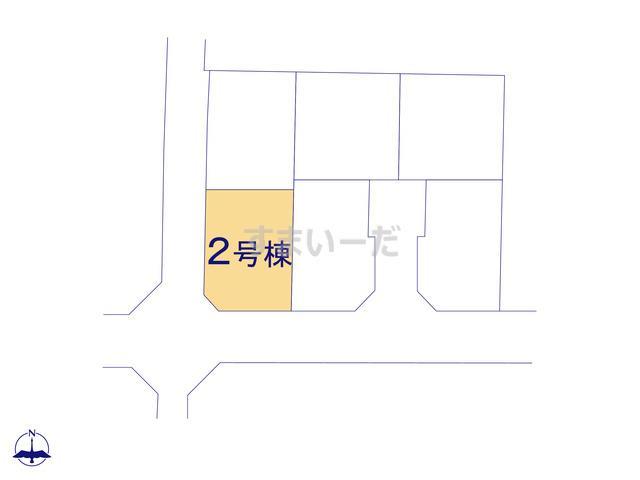 リーブルガーデン 大和高田市奥田4期の見取り図