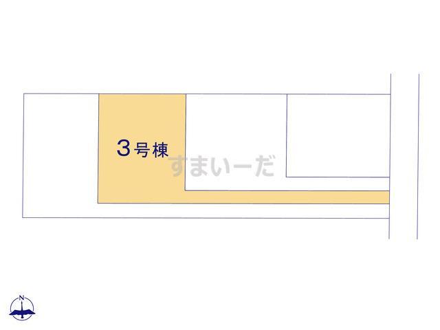 リーブルガーデン 西区篠原町9期の見取り図