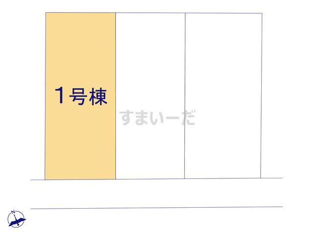 リーブルガーデン 西区舞阪町浜田3期の見取り図