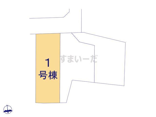ハートフルタウン 小金井貫井南町7期の見取り図