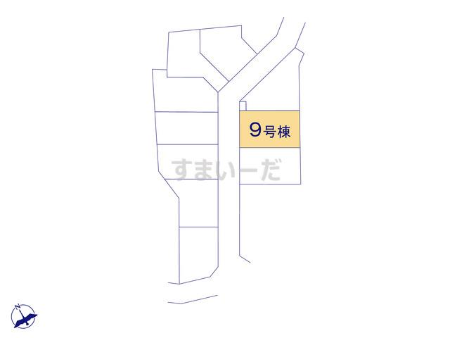 クレイドルガーデン 相模原市中央区田名 第116の見取り図