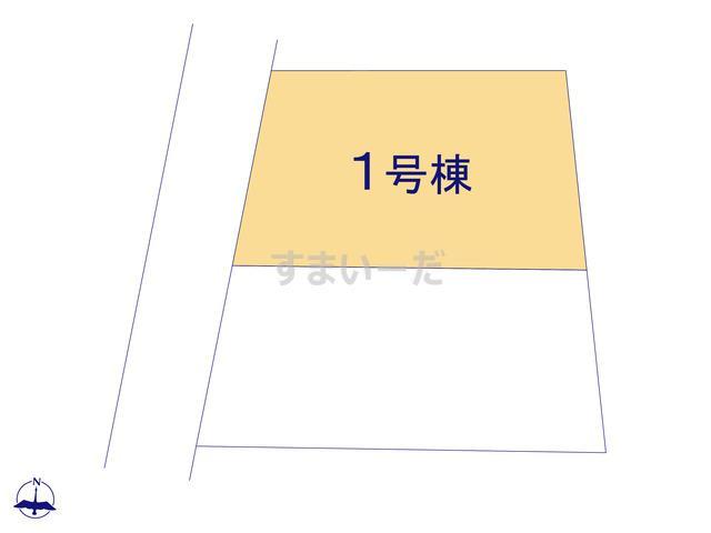 クレイドルガーデン 豊川市小坂井町 第4の見取り図