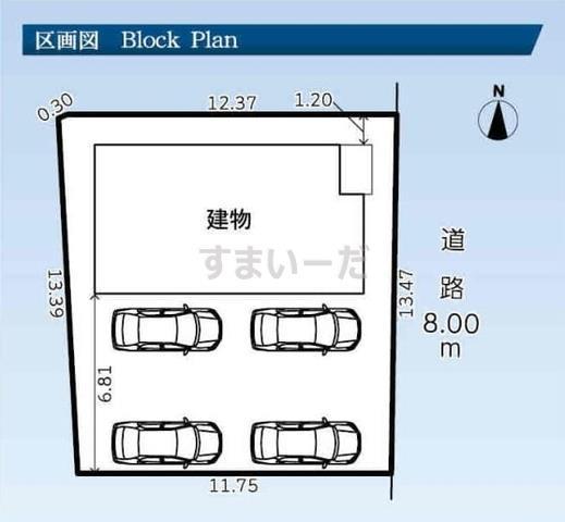 グラファーレ 袋井市高尾1棟の見取り図