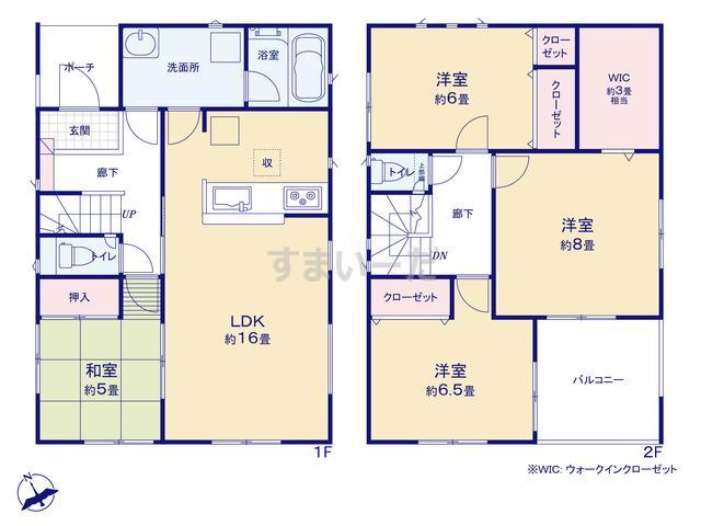 クレイドルガーデン 名古屋市天白区焼山 第4の見取り図