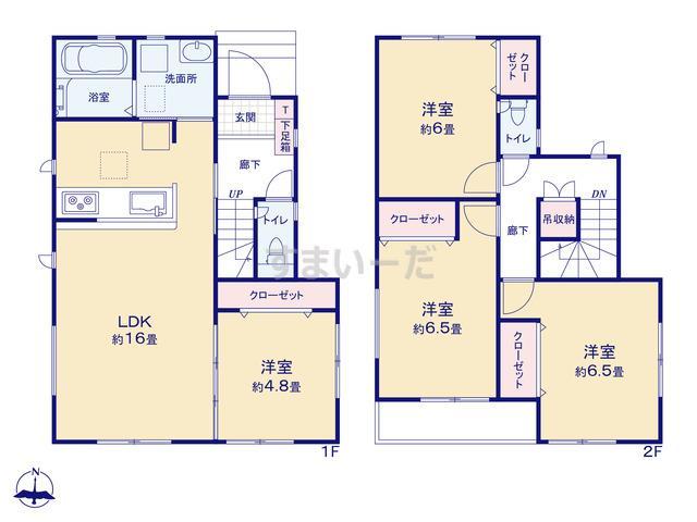グラファーレ 名古屋市星崎1棟の見取り図
