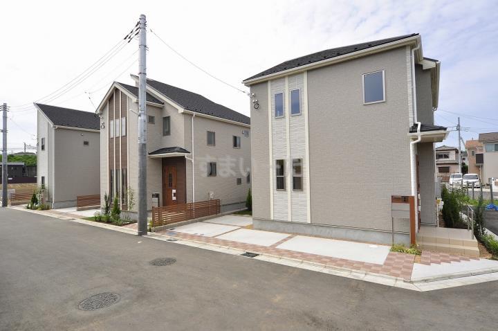 ブルーミングガーデン 清瀬新座3期全4棟-東栄住宅の新築一戸建て-の外観①