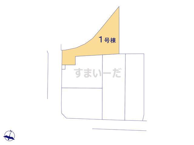 グラファーレ 入間市宮寺15期5棟の見取り図