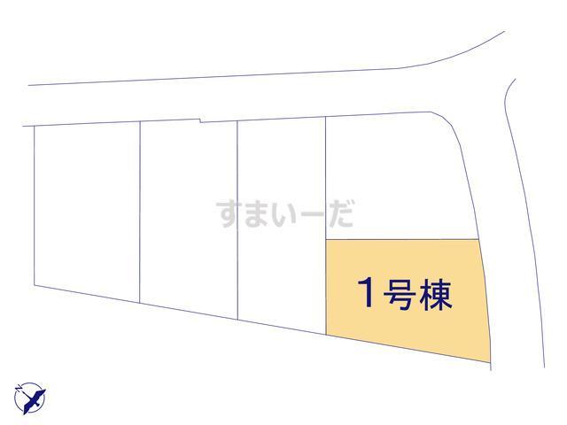 グラファーレ 八重瀬町港川5棟の見取り図