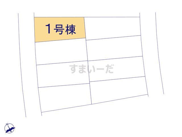 グラファーレ うるま市石川2期8棟の見取り図