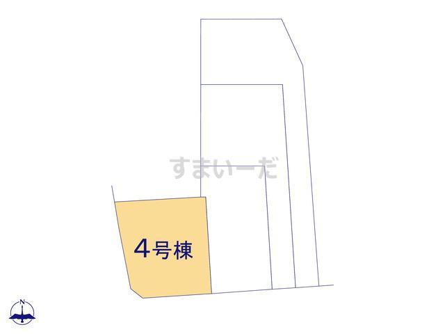 クレイドルガーデン 名古屋市中村区日ノ宮町 第3の見取り図