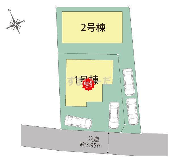 ブルーミングガーデン 福岡市早良区飯倉6丁目3期2棟-長期優良住宅-の見取り図