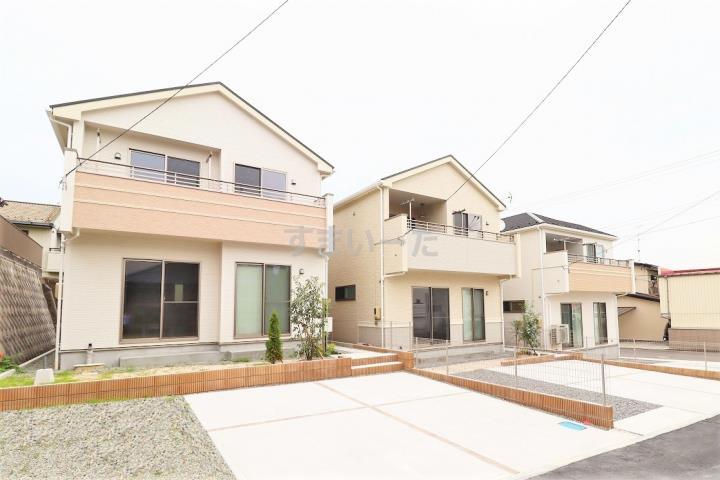 ブルーミングガーデン 郡山市深沢2丁目3棟-長期優良住宅-の外観①