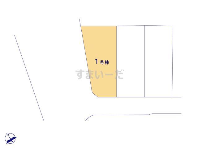 クレイドルガーデン 福岡市南区横手 第6の見取り図