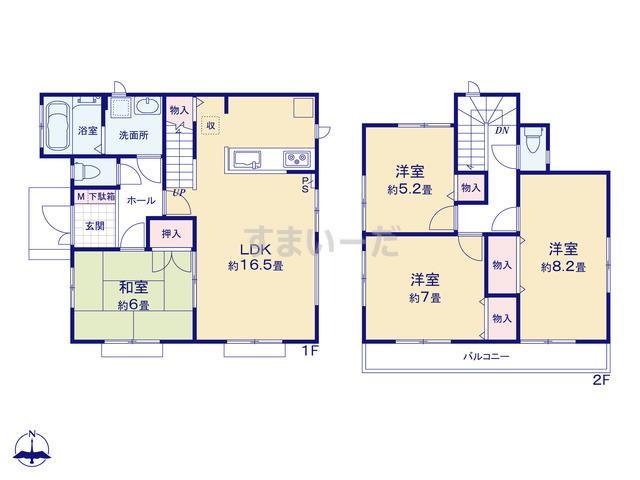 ハートフルタウン 川崎市麻生区王禅寺東4丁目1593番の見取り図