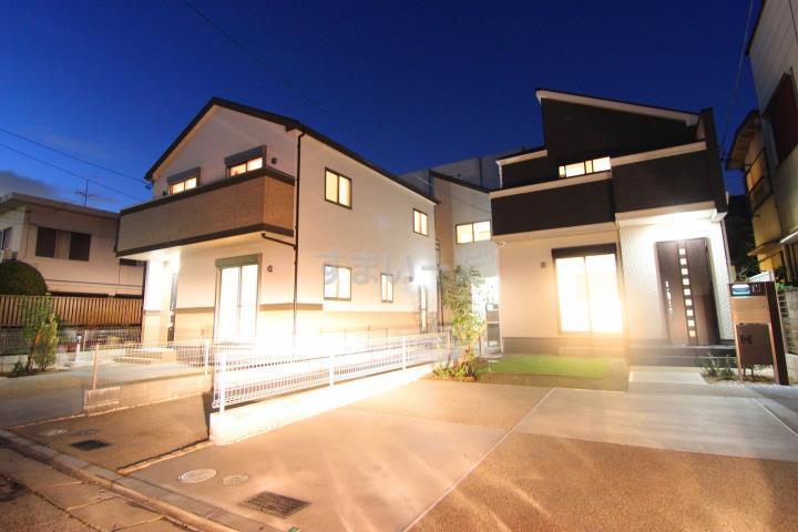 ブルーミングガーデン 名古屋市天白区島田黒石3棟-長期優良住宅-の外観①