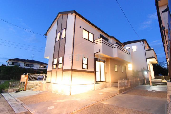 ブルーミングガーデン 名古屋市天白区島田が丘2棟-長期優良住宅-の外観①