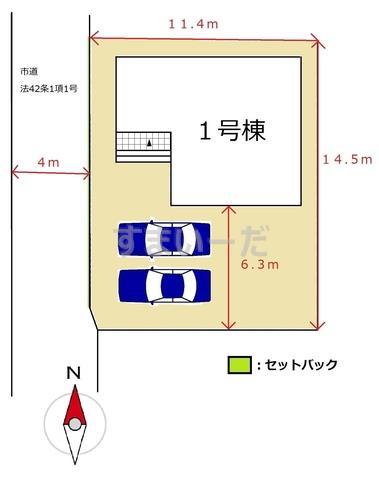 リーブルガーデン 久留米市津福今町第四の見取り図