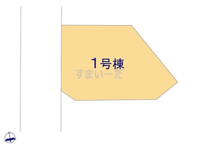 ハートフルタウン 川崎市多摩区生田3丁目881番の見取り図