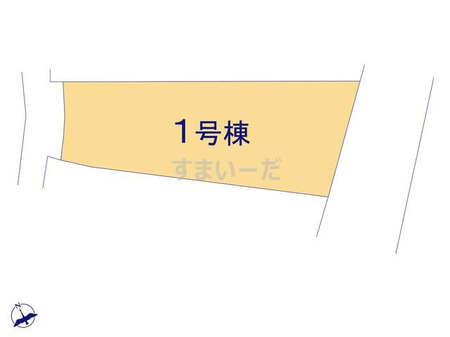 リーブルガーデン 知多市岡田東島の見取り図