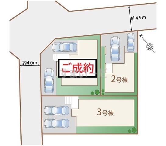 ハートフルタウン 仙台旭ヶ丘12期の見取り図
