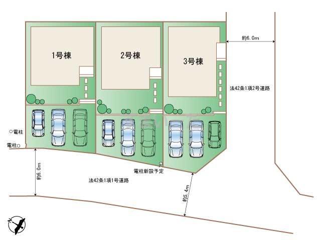 ハートフルタウン 読谷村長浜IIの見取り図