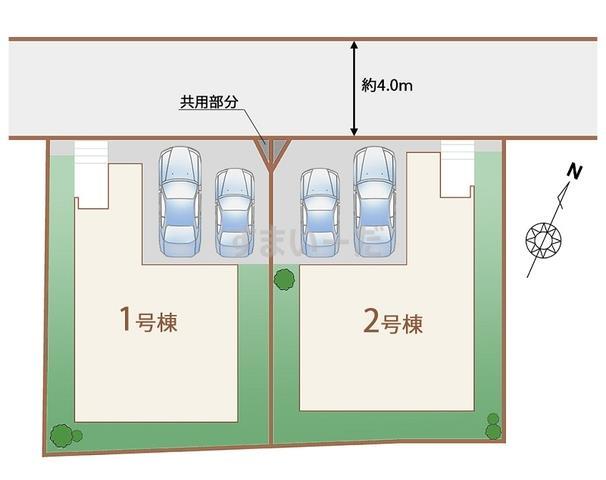 ハートフルタウン 仙台鷺ヶ森10期の見取り図