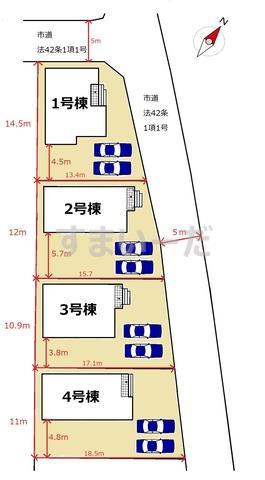 リーブルガーデン 久留米市梅満町第四の見取り図
