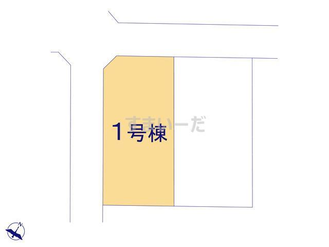 クレイドルガーデン 八戸市桜ヶ丘 第7の見取り図