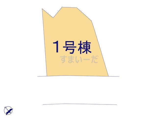 クレイドルガーデン 八戸市柏崎 第3の見取り図