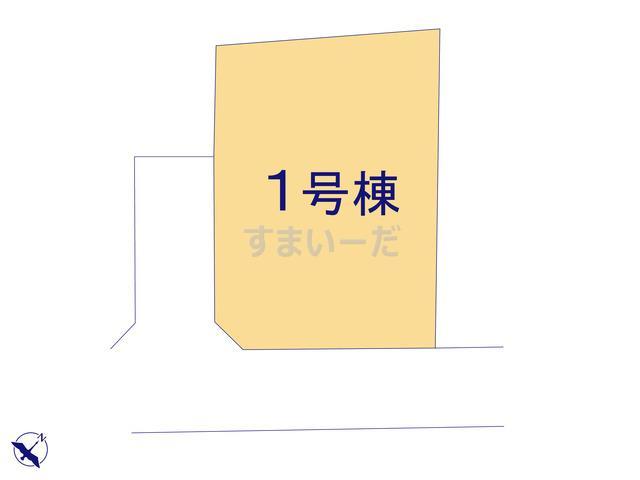 ハートフルタウン 町田市野津田町3263番の見取り図