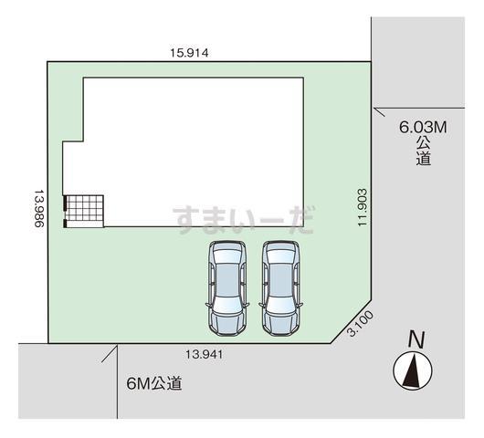 グラファーレ 宇都宮市氷室町1棟の見取り図