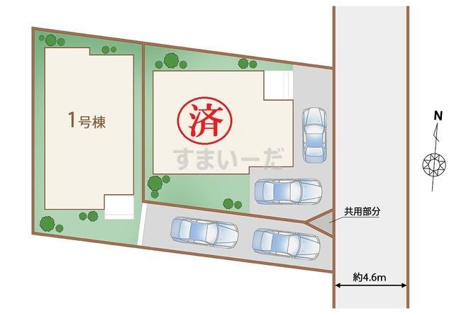 ハートフルタウン 神戸北区鈴蘭台東町の見取り図