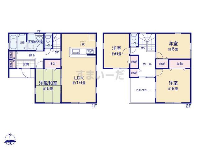 リーブルガーデン 城南区樋井川第十四の見取り図